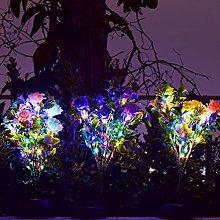 OSALADI 1Pc del Fiore del Garofano Luce Decorativa