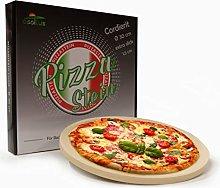 osoltus - Pietra per pizza professionale, rotonda,