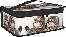 OUCSSDLTD Sacco per il pranzo con gatto