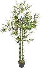 Oushome Pianta di bambù Artificiale con Vaso
