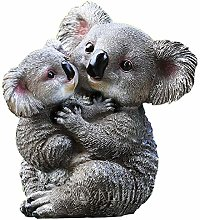 Outdoor Garden Koala Ornament Resina Artigianato