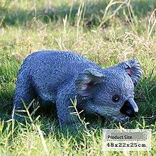 Outdoor Garden Koala Ornament Simulazione esterna