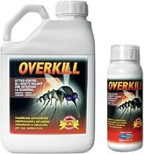 Overkill insetticida per scuderie contro mosche
