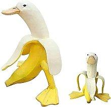 oxskk Arte Giardino Anatra alla Banana