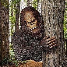 oxskk Bigfoot La Timida Statua Dell'albero di
