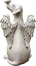 oxskk Decoroativi Statua per Giardini,Farfalla