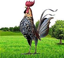 oxskk Gallo di Pollo Scultura,All'Aperto