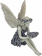 oxskk Giardino Fata Statua,Angelo All'Aperto
