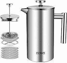 OZAVO Coffee Press Caffettiera a Pistone