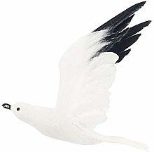 P Prettyia Gabbiano Vivente Uccello Statua