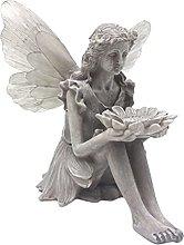P Prettyia Scultura di Figurina di Angelo di Luce