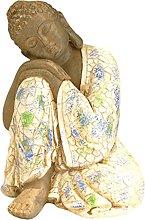 P Prettyia Statua di Buddha Tailandese Shakyamuni