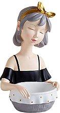 P Prettyia Statua in resina per bambine, scultura