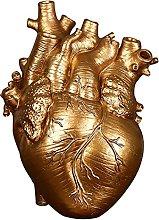 P Prettyia Vaso Creativo, Anatomico Cuore Vaso di