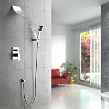 Pacchetto doccia incasso con effetto cascata e