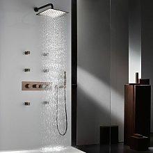 Pacchetto doccia termostatico ad incasso finitura