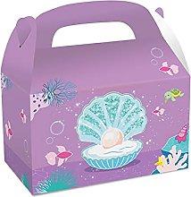 pacco regalo 3pcs colorato sacchetti regalo sirena