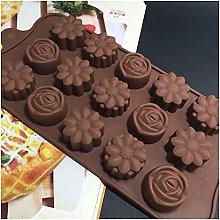 pacco regalo Silicone Flower Rose Cioccolato Della