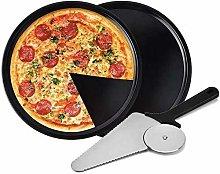 Pala Per Pizza Set, 2 teglie per Pizza