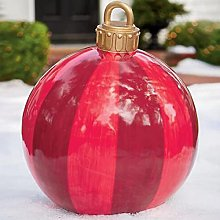 Palla gonfiabile di Natale all'aperto Palla