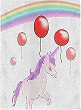 Palloncino Arcobaleno Unicorno Bandiera del