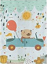 Palloncino Orso Dei Cartoni Animati Bandiera del