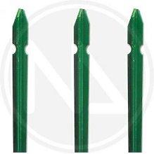Palo paletto ferro plastificato verde paletti