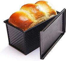 Pan di pane con coperchio - antiaderente Bakeware