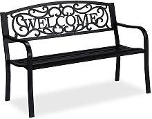 Panca da Giardino Welcome, a 2 Posti, Accessori da