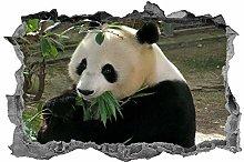 Panda, 3D, arte della parete, orso panda, animali,