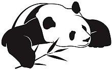 Panda Cinese Simpatico Animale Wall Art