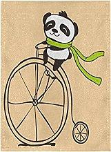 Panda Divertente Bandiera del Giardino Banner