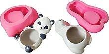 Panda/Orso Polare Cemento Resina Stampi in