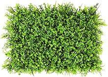 Pannelli artificiali della bosso, pianta di siepe