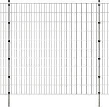 Pannelli recinzione da giardino con pali