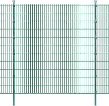 Pannelli recinzione da giardino con pali 2008x2230