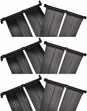 Pannelli Solari Riscaldatori per Piscina 6 pz