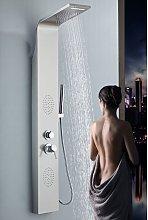 Pannello colonna doccia in acciaio inox con getti