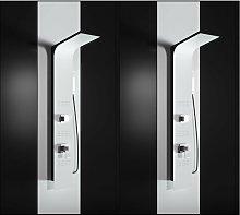 Pannello doccia idromassaggio in alluminio