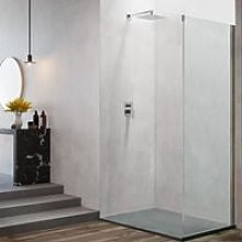 Pannello fisso da cm 90 per porta doccia apertura