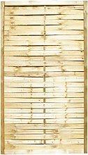 Pannello frangivento in legno di pino impregnato