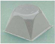 Paracolpi bumpon adesivo quadrato trasparente