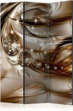 Paravento 3 Pannelli - Chocolate Tide 135x172cm