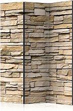 Paravento 3 Pannelli - Decorative Stone 135x172cm