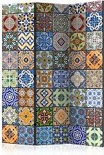 Paravento 3 Pannelli - Mosaico Colorato 135x172cm