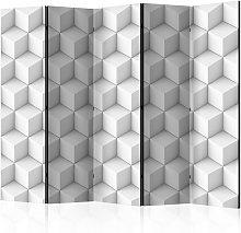 Paravento 5 Pannelli - Cube Ii 225x172cm Erroi