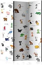 Paravento animals for children Room Div cm 135x172