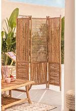 Paravento Clint Bamboo Bambù Sklum