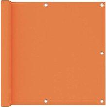Paravento da Balcone Arancione 90x500 cm in