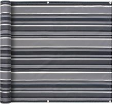 Paravento da Balcone Tessuto Oxford 75x600 cm